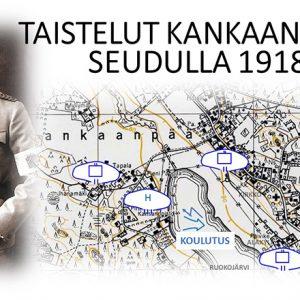 Vuoden 1918 taistelut Kankaanpään seudulla