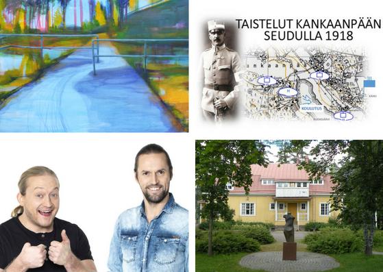 Muista ilmoittautumiset: Hyvinvointipäivä, 1918-historiatapahtuma, Äänimaisema-seminaari ja Kulttuurikierros