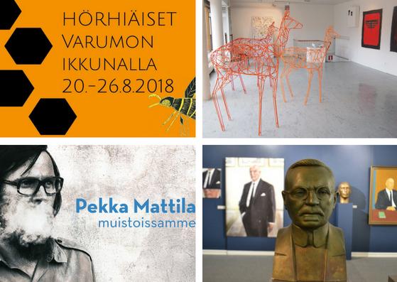 Näyttely ja työpaja lisäyksenä Hörhiäisviikon kulttuuritarjontaan