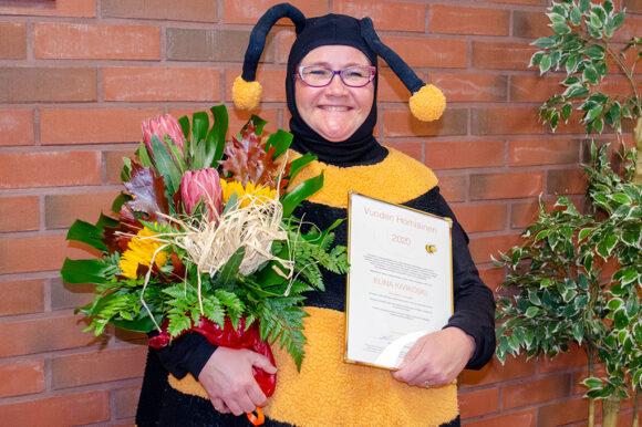 Elina Kivikoski on Vuoden 2020 Hörhiäinen!